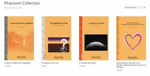 Los cuatro primeros títulos de la PHANTOM COLLECTION